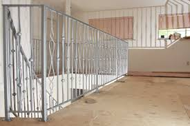 stair railing and deck railing custom made wrought iron railings