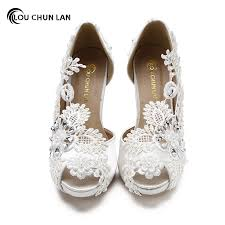 wedding shoes open toe shoes women pumps open peep toe wedding shoes pearl ultra