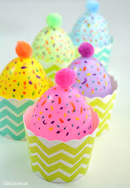 Large Plastic Easter Eggs Decorations by Easy Plastic Egg Cupcake Candle Decorations And Treat Cups Club
