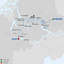 Map Of Switzerland And Germany by German River Cruises Avalon Waterways