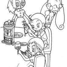 magical doremi coloring pages 28 free printables cartoon