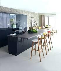 table ilot cuisine haute table haute ilot central table decoupage glass home deco