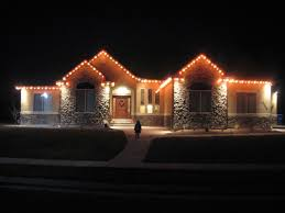 How To Hang Christmas Lights Outside by Christmas Light Ideas For House Home Design Ideas