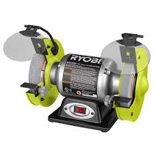 home depot black friday sale ryobi ryobi 2 1 amp 6 in bench grinder bg612gsb the home depot