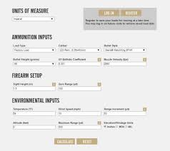 5 56 Ballistics Table Federal Goes Live With Online Ballistics Calculator The Firearm
