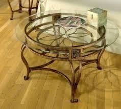Coffee Table With Metal Base by Glass Top Metal Coffee Table Foter