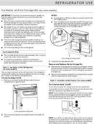 whirlpool ice maker red light flashing whirlpool french door refrigerator troubleshooting user guide