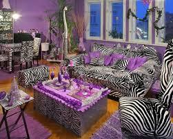 fantabulous safari themed living room with zebra chairs framed
