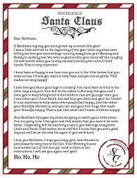 santa word template invitation template