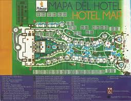 Mexico Resorts Map by Grand Riviera Princess Travel By Bob