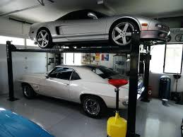 two post car liftscar lift for garage bendpak home storage