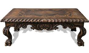 Tuscan Furniture Collection Tuscan Scroll Coffee Table The Koenig Collection Unique Home