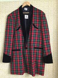 Teddy Boy Drape Teddy Boy Drape Jacket In Red Tartan 1950s Rock U0027n U0027 Roll