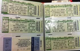 ticket stub album ticket stub memories sorted filed and treasured by nick tavares