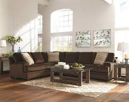 Chocolate Sectional Sofa Robion Sectional Sofa 501147 In Chocolate Fabric By Coaster