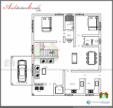 low cost 3 bedroom kerala house plan with elevation free kerala