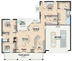 Jack And Jill Floor Plans Plan 8423jh Handicapped Accessible Southern House Plans