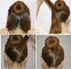hairstyles using a bun donut pictures on donut hairstyle bun cute hairstyles for girls