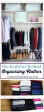 How To Organize Pants In Closet - the konmari method organizing clothes just a and her blog