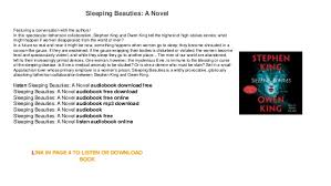 a novel audiobook free mp3