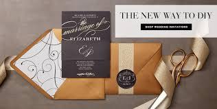 diy wedding invitations make your own invitations at wedding paper