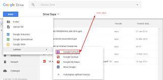 langkah membuat google form cara membuat formulir pendaftaran online menggunakan google form