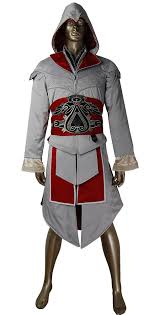 Hoodie Halloween Costumes Assassin U0027s Creed Brotherhood Ezio Cosplay Costume Jacket Hoodie