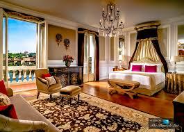 striking beautiful mane bedroom modern with bathroom inside image