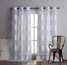 Linen Curtain Panels 108 Amazon Com Duck River Textiles Capricia Faux Linen Grommet Pair