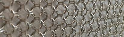 Metal Coil Drapery Chain Curtain Metal Curtain Mesh Drapery