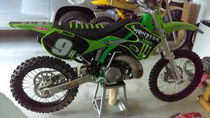 ufo motocross boots nos 99 02 and 03 kx ufo flo green plastic seats and covers