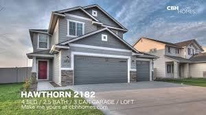 cbh homes hawthorn 2182 4 bed 2 5 bath 3 car garage loft