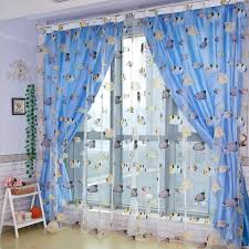 Boys Room Curtains Boys Bedroom Beautiful Blue Tosca Curtain In Shared Bedroom With