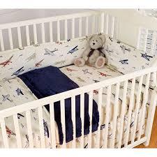 Vintage Aviator Crib Bedding Vintage Airplanes Blue 4 Crib Bedding Set Baby Nursery