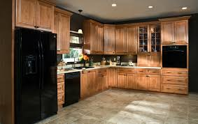 Cinnamon Shaker Kitchen Cabinets by All Wood Cabinets Langston Cinnamon Cabinetry