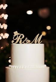 k cake topper online shop monogram letter k cake topper rustic wedding