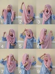 tutorial hijab syar i untuk pengantin tutorial hijab cantik untuk lebaran hijab style 6