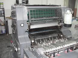 single colour used offset printing machines heidelberg mo e used