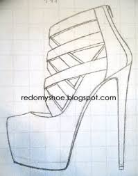 how to draw high heel shoes google search art pinterest