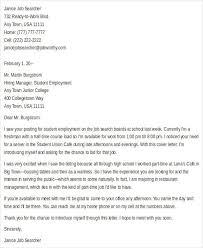 application letter application letter for ojt students sample