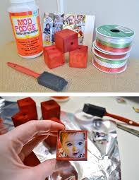 personalized photo ornaments a tutorial custom christmas
