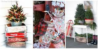 country christmas decorating ideas home plain design country christmas decor 32 outdoor decorations ideas