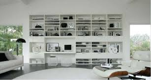 logo 206 wall unit with bookcase system by sangiacomo italy has