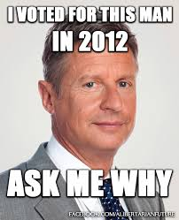 I Voted Meme - 22 reasons why i voted for gary johnson in 2012