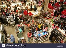 thanksgiving black friday hordes of shoppers inside macy u0027s in new york looking for bargains