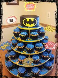 batman gift wrap batman cake cupcake tree how cupcaketreecom original mini
