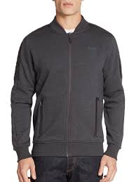 ferrari jacket puma ferrari jacket in gray for men lyst