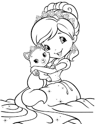 strawberry shortcake halloween coloring pages omeletta me