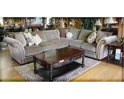 furniture small l shaped velvet sectional decor with oval glass