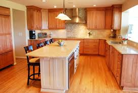 outstanding shaped kitchen with island floor plan including best